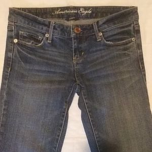 American Eagle Stretch Skinny Sz 0 Long Jeans